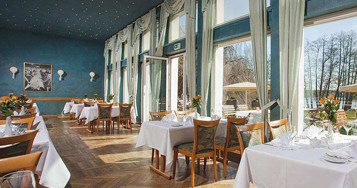 Restaurant Herrenhaus: Wintergarten. Fotograf: Sebastian Runge