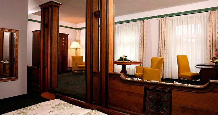 Homeoffice im Hotel: Zimmer im Herrenhaus DAS SCHMÖCKWITZ