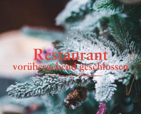 DAS SCHMÖCKWITZ: Restaurant Wintergarten vorübergehend geschlossen