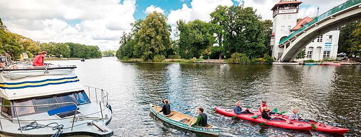 Bootstour auf den Wasserwegen in Trepto-Köpenick. Tourismusverein Berlin Trepto-Köpenick