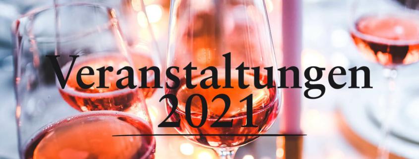 Veranstaltungen 2021