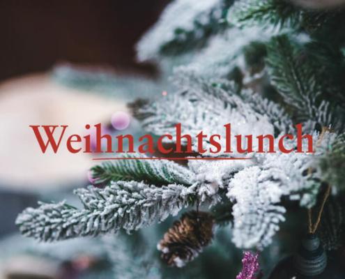 Tannendekoration zum Weihnachtslunch 25. & 26. Dezember